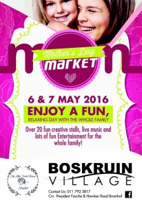 Mother's Day Market @Boskruin Village -the little field mouse market @ Boskruin Village Centre | Randburg | Gauteng | South Africa