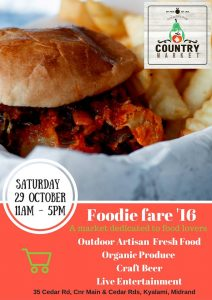 Country Market Foodie Fair '16, @ Country Market @ Country Pub | Sandton | Gauteng | South Africa